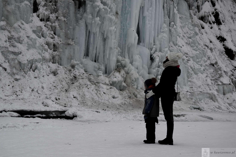 Pomysł na małą wycieczkę – lodospad