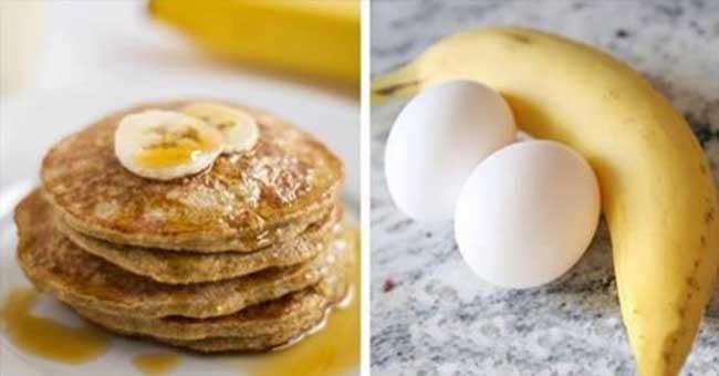 Jedz codziennie na śniadania te 4-składnikowe naleśniki bez mąki i obserwuj jak Twoja tkanka tłuszczowa znika!