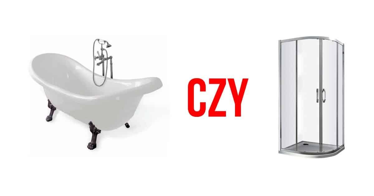 Prysznic czy wanna? Plusy oraz minusy i czy istnieje kompromis?