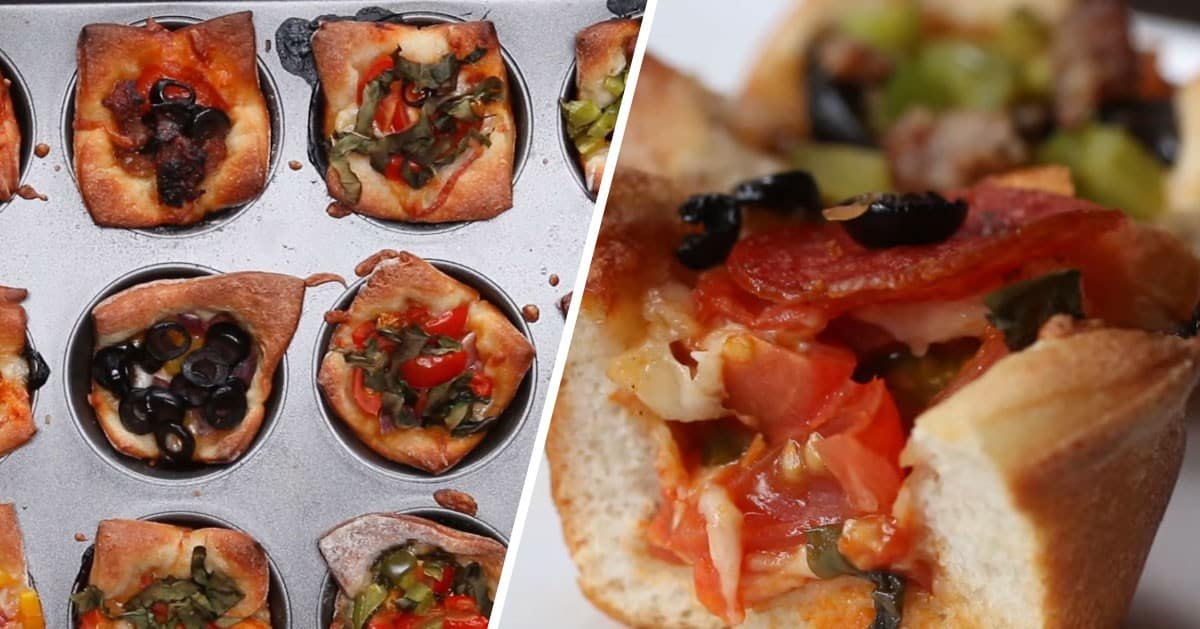 Szybka przekąska z ciasta do pizzy