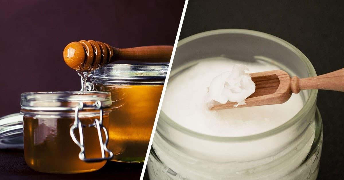 Połącz olej kokosowy i miód. Zobacz jakie właściwości dla zdrowia ma ta mieszanka!