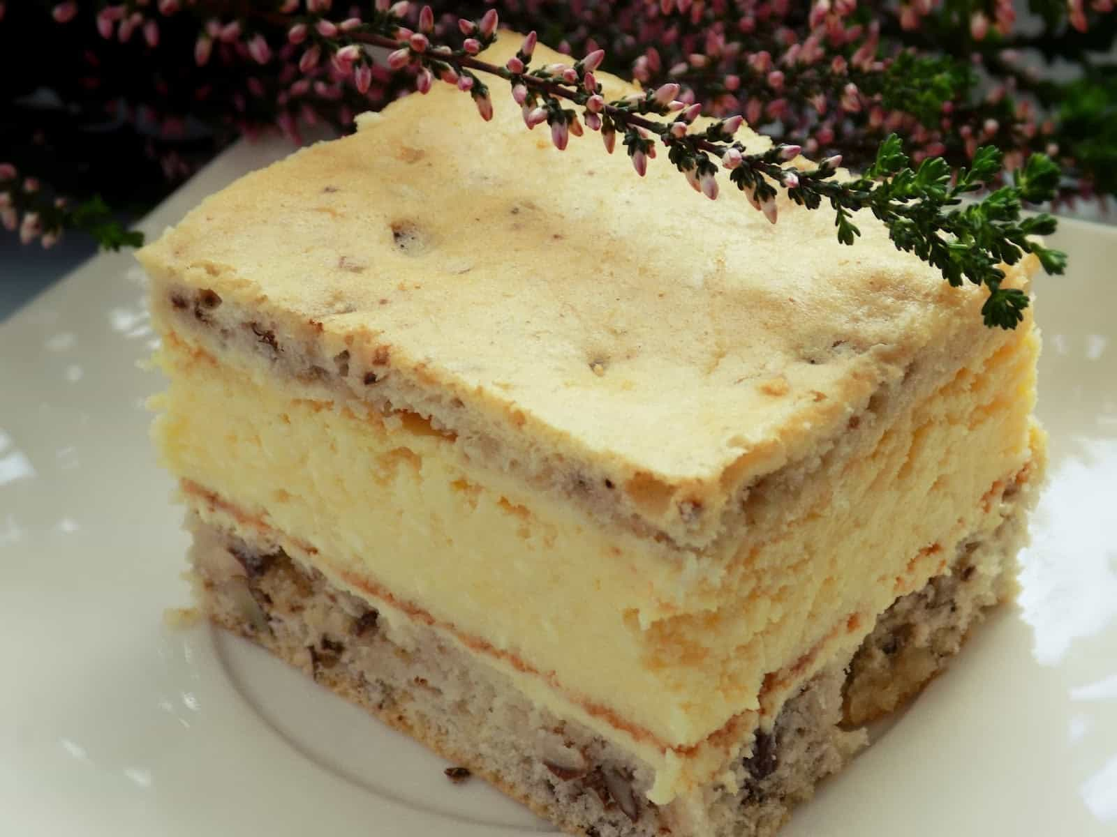 Ciasto serowo – orzechowe wg siostry Anastazji