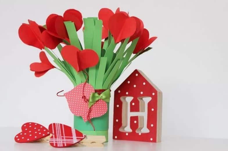 Kwiaty z papieru – wyjątkowy pomysł na prezent