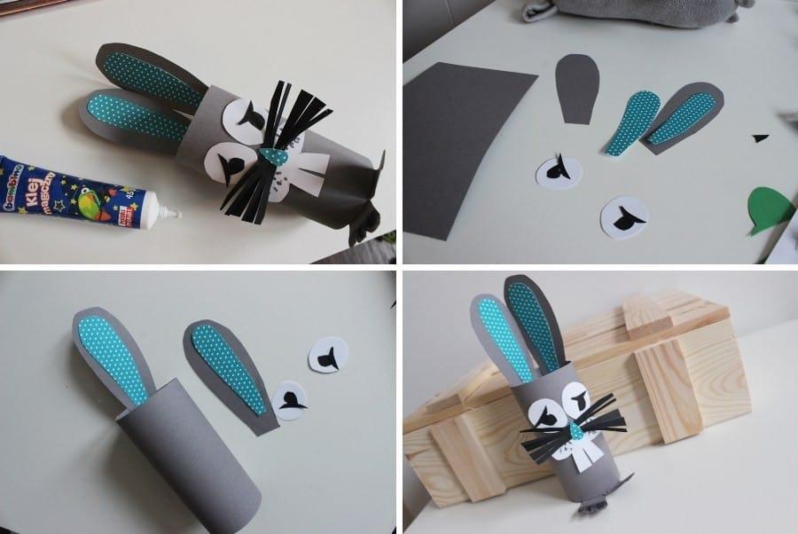 DIY zwierzaki z papieru