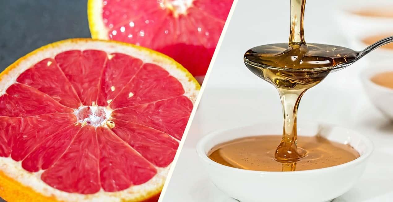 Nowy sposób na spalenie kalorii. Grejpfrut i miód!