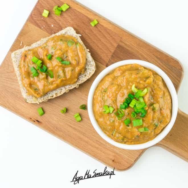 Pyszna i aromatyczna pasta kanapkowa