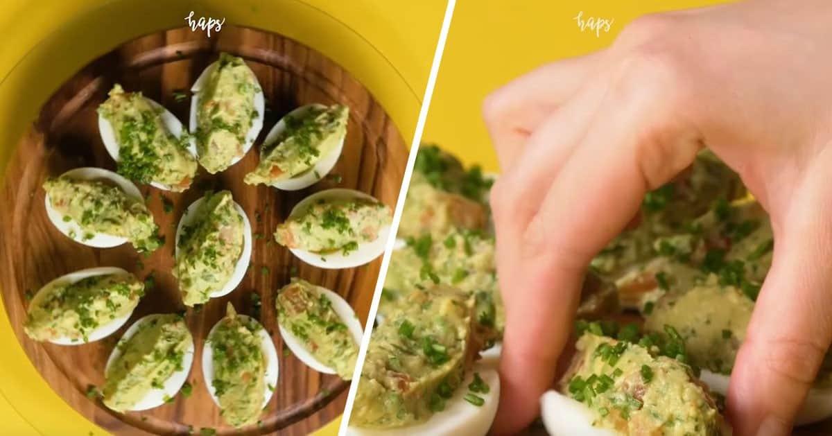Jajka z guacamole – świetna przekąska