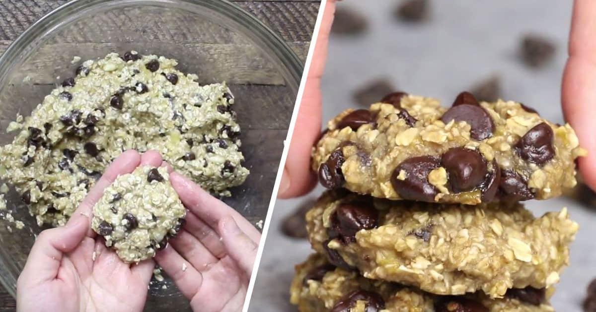Ciasteczka, które zrobisz jedynie z 3 SKŁADNIKÓW!