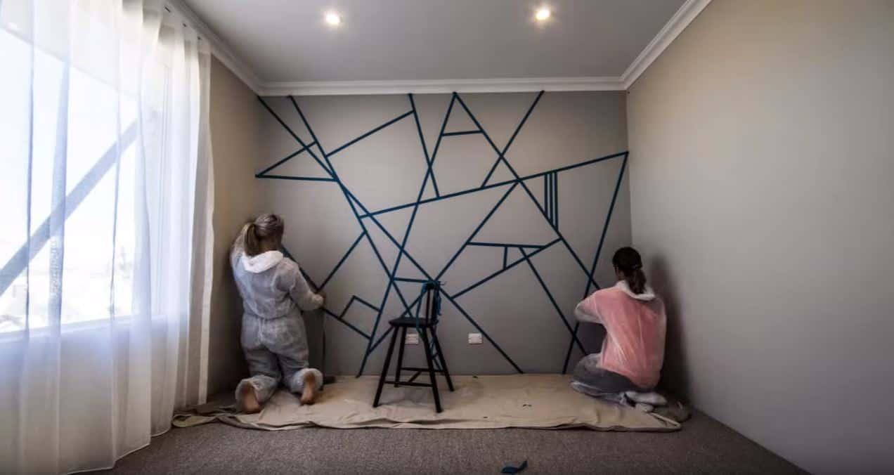 Zobacz jak w świetny sposób małym kosztem ożywić ścianę