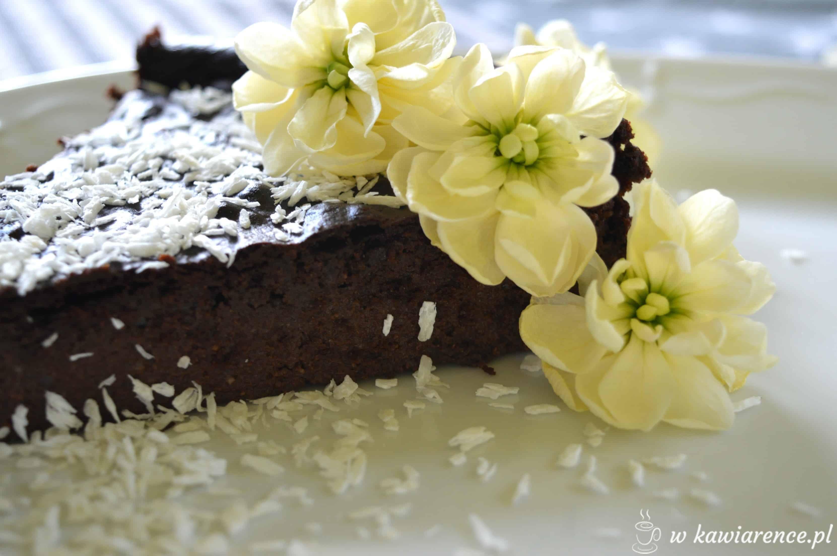 Czekoladowe jaglane brownie