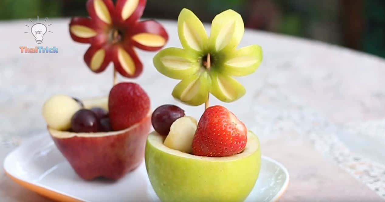 6 świetnych porad jak zrobić dekorację z jedzenia