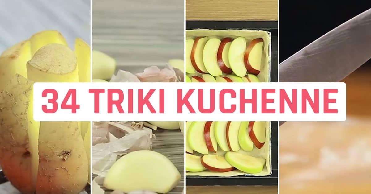 34 triki kuchenne, które każdy powinien znać