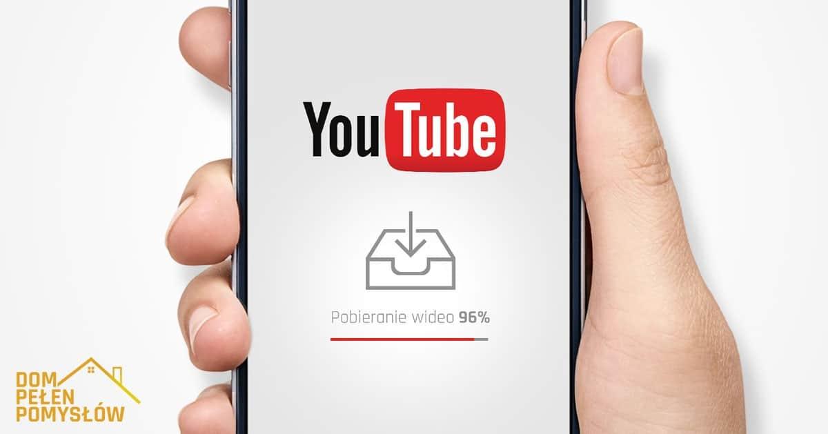 Jak pobrać film z YouTube na telefon?