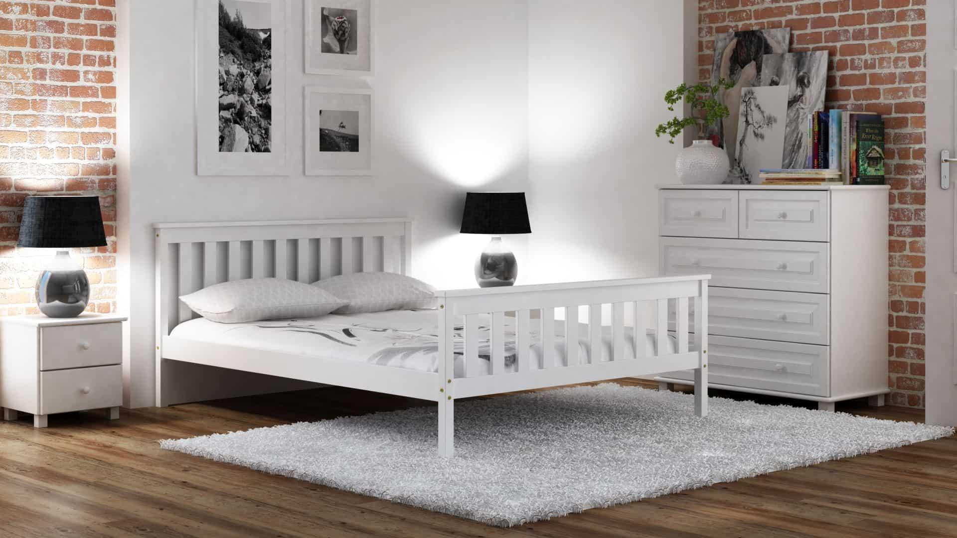Jak wybrać kolor łóżka do minimalistycznej sypialni?