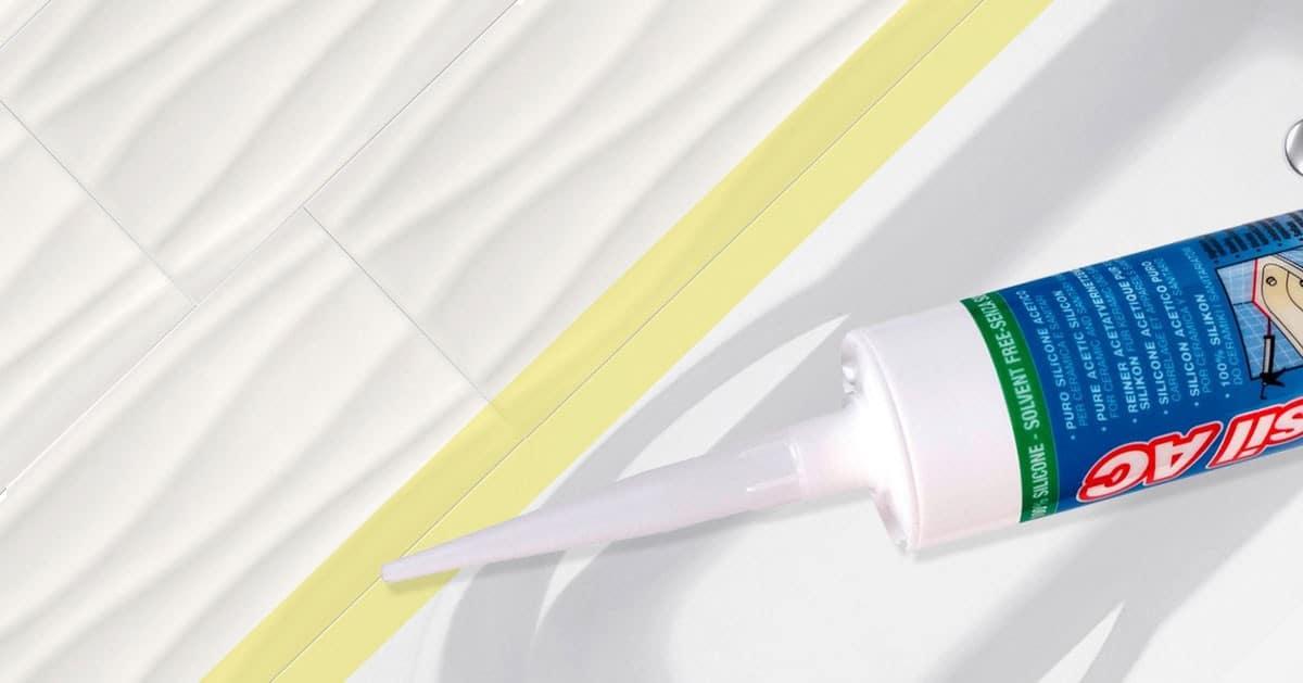 Jak fugować i silikonować spoiny płytek