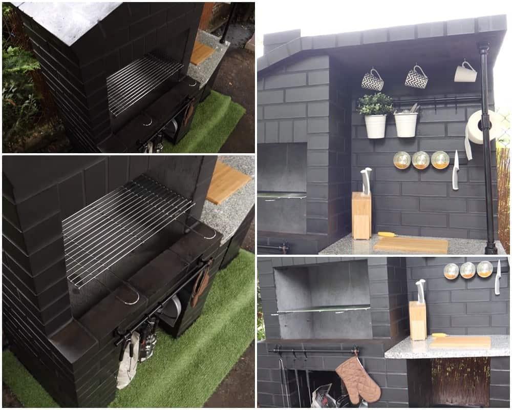 Jak zbudować grill w ogrodzie z cegły klinkierowej