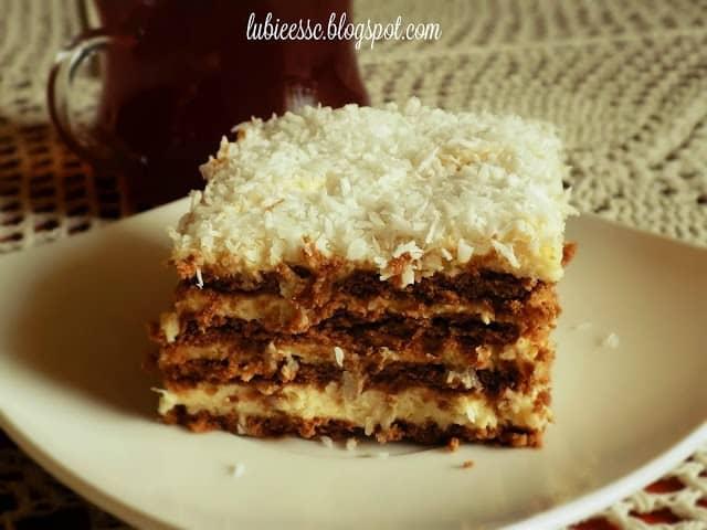 Raffaello ciasto bez piekarnika wg siostry Anastazji
