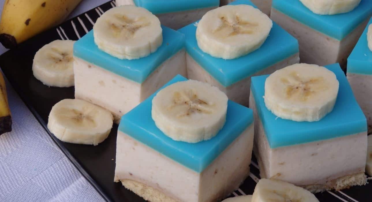 Sernik bananowy na zimno