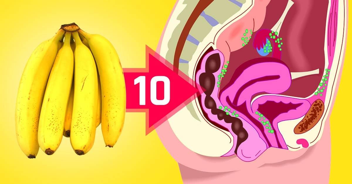 DomPelenPomyslow.pl 10 zalet dla zdrowia, które płyną z jedzenia bananów