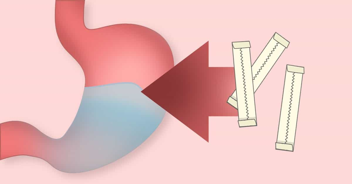 Co naprawdę się stanie gdy połkniesz gumę do żucia?