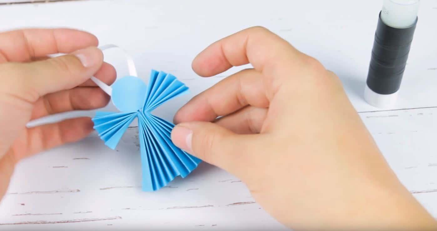 Jak Zrobić Aniołka Z Papieru Ozdoby Z Papieru Na święta