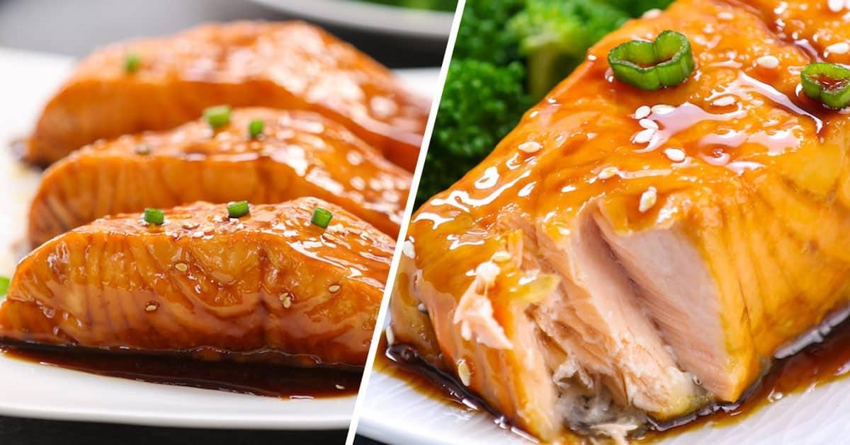 Genialny obiad nie musi zawierać wiele czasu. Łosoś Teriyaki w 20 minut!