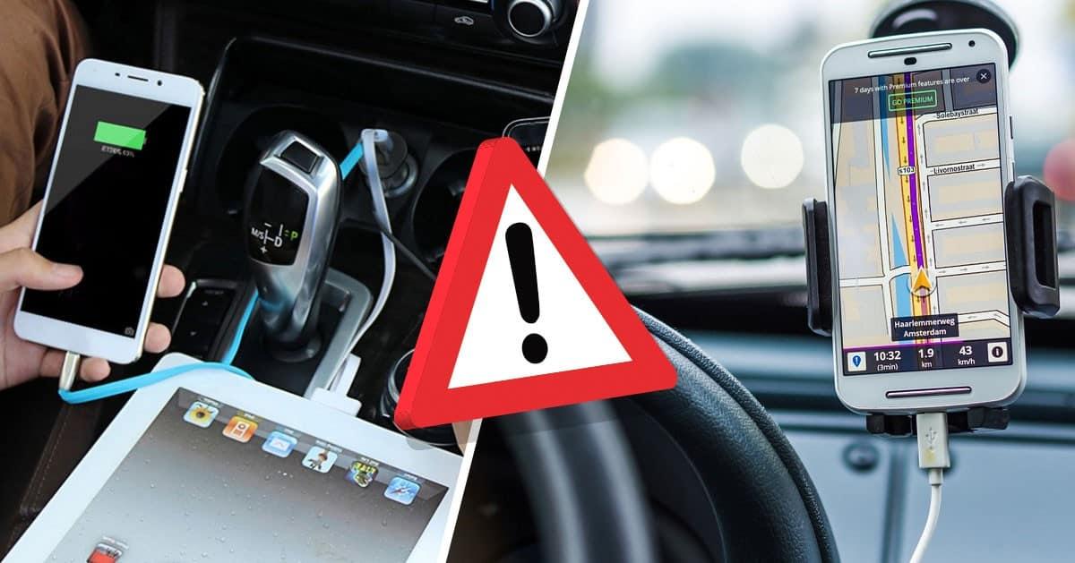 Ładujesz telefon w samochodzie? Jest jeden powód, dla którego musisz przestać to robić!
