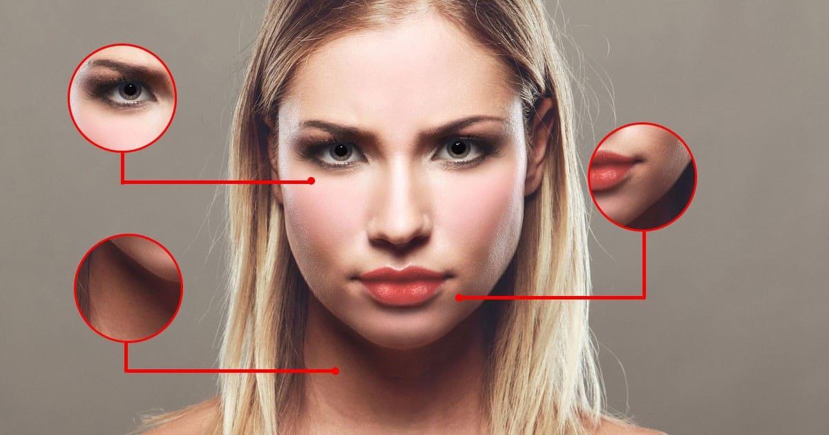 3 choroby, które rozpoznasz przyglądając się swojej twarzy w lustrze