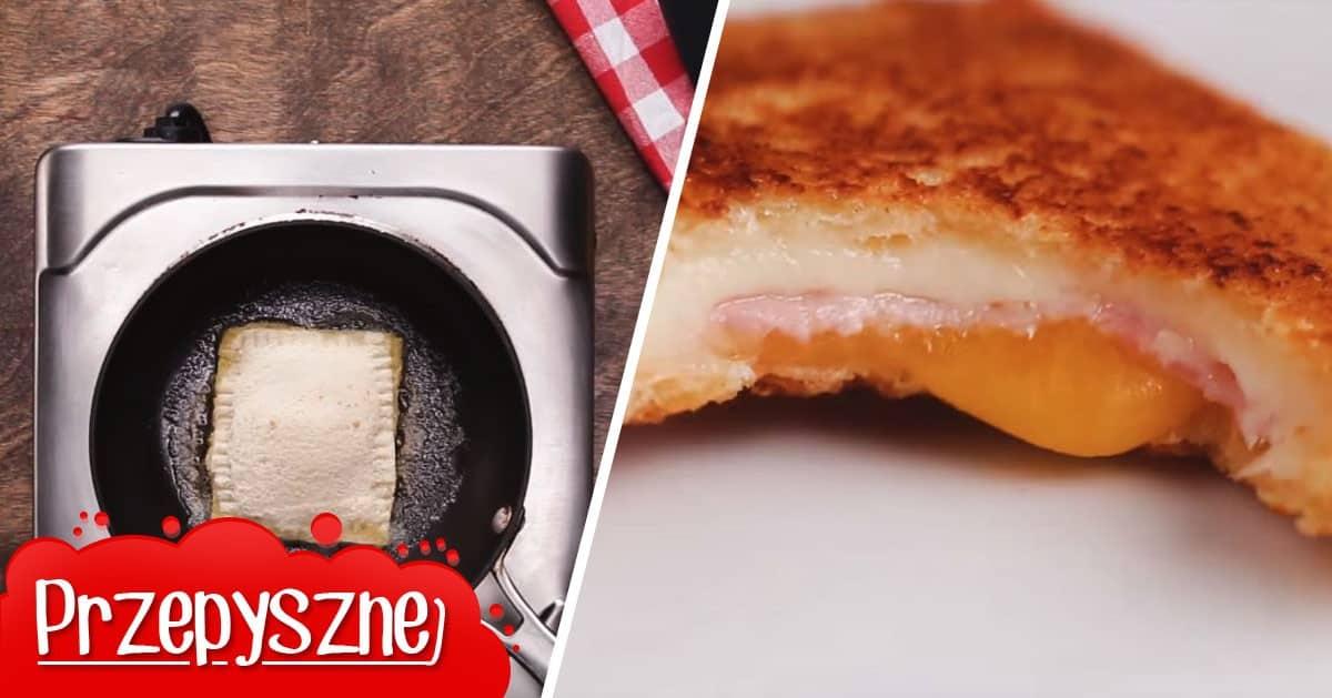 Te tosty na pewno nie są nudne. Spróbuj, a ich smak Cię zaskoczy!