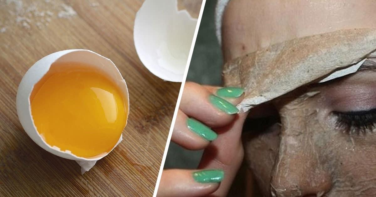 Maseczka z jajek 3 w 1 – ujędrnia, wzmacnia i oczyszcza skórę!