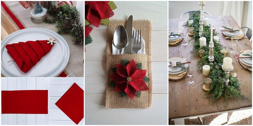 10 pomysłów na ozdobienie Bożonarodzeniowego stołu!