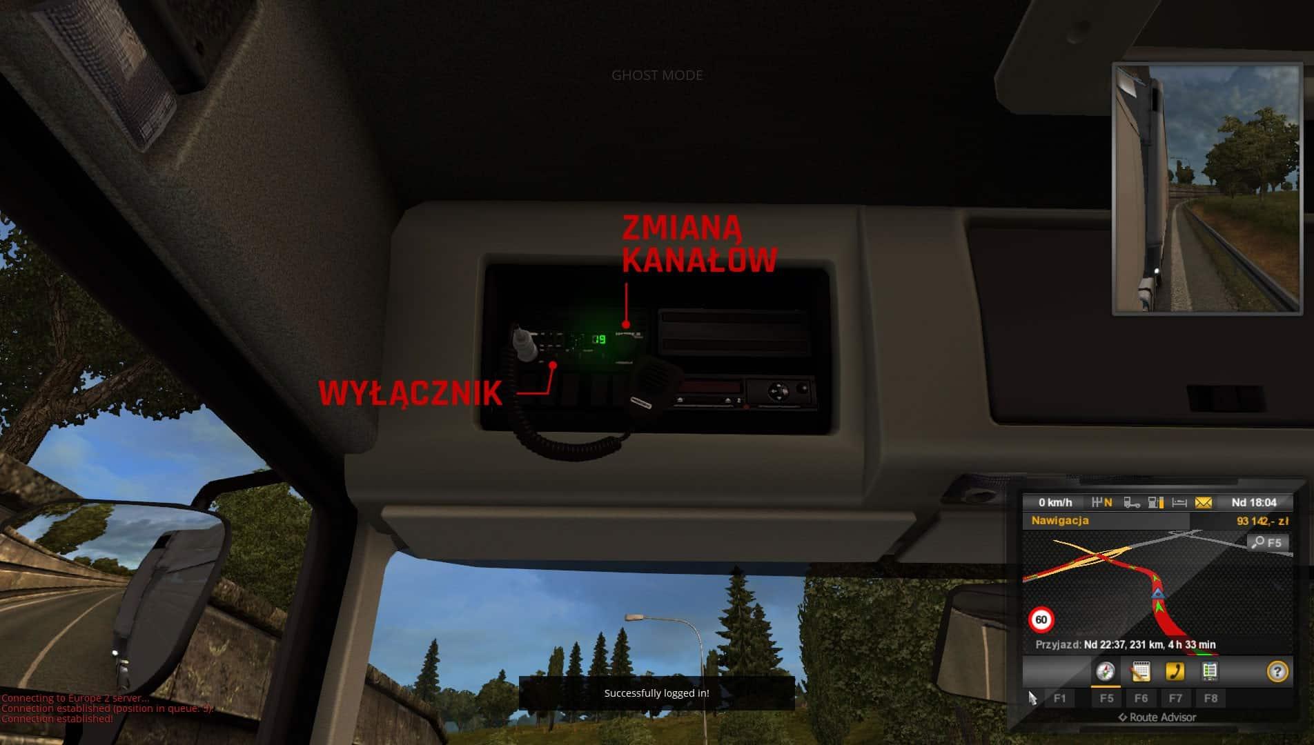 Jak rozmawiać przez CB Radio w TruckersMP – Euro Truck Simulator 2 Multiplayer