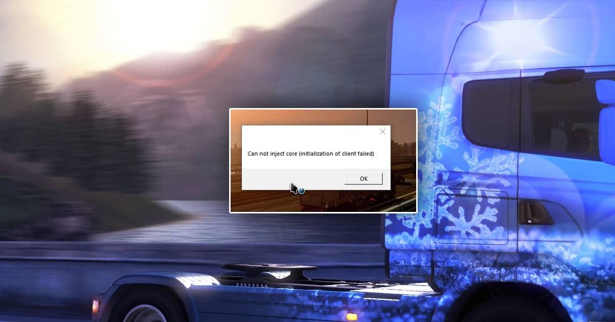 TRUCKERSMP Cannot inject core – ROZWIĄZANIE PROBLEMU – Euro Truck Simulator 2 Multiplayer Online