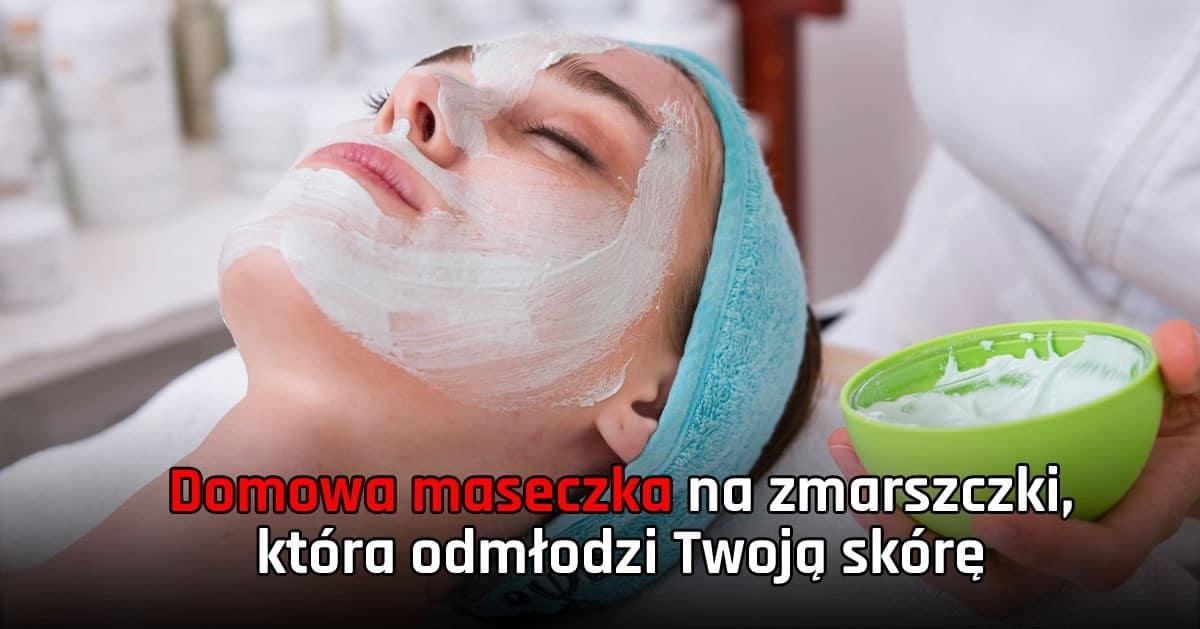 DomPelenPomyslow.pl Domowa maseczka na zmarszczki, która odmłodzi Twoją skórę