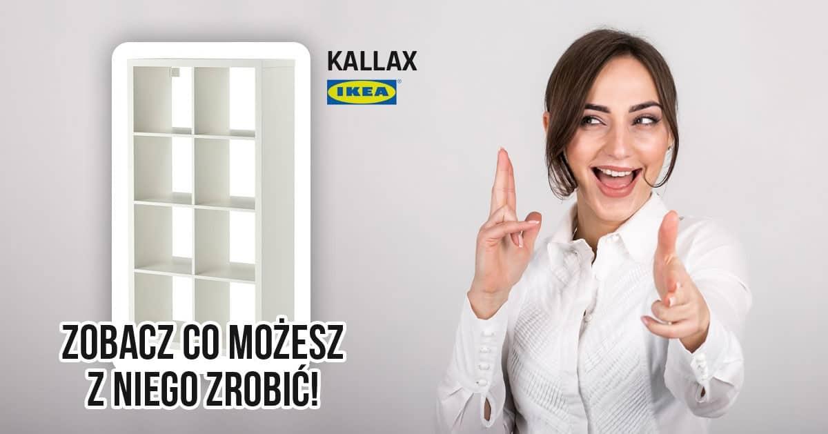 Kupiła regał KALLAX z IKEA oraz parę rzeczy. Zobacz co genialnego z tego wyszło!