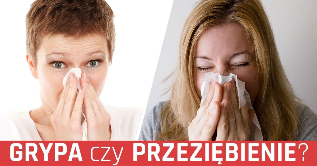 To grypa czy przeziębienie? Zobacz jak je odróżnić!