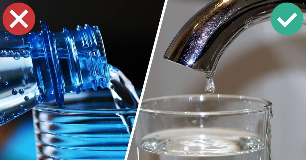 7 powodów, dla których lepiej pić wodę z kranu niż z butelki
