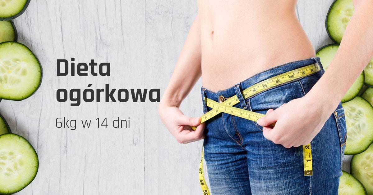 Dieta ogórkowa – jak schudnąć 6 kg w 14 dni.