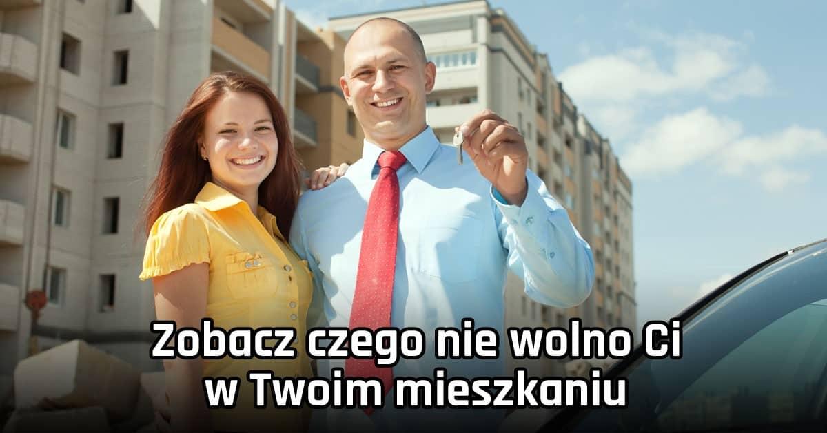 DomPelenPomyslow.pl Zobacz czego Ci nie wolno robić mieszkając w bloku!
