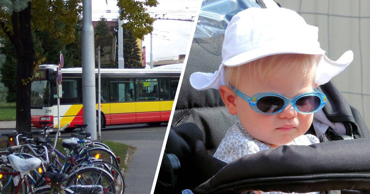 DomPelenPomyslow.pl Matka jechała w autobusie z plączącym dzieckiem. Starsza kobieta ją zwyzywała. A Wy, co byście zrobili?
