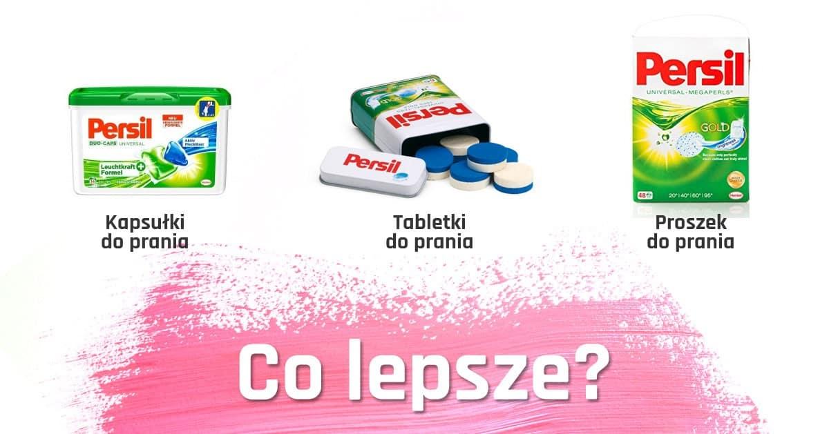 Tabletki do prania, proszek czy kapsułki? W czym najlepiej prać?
