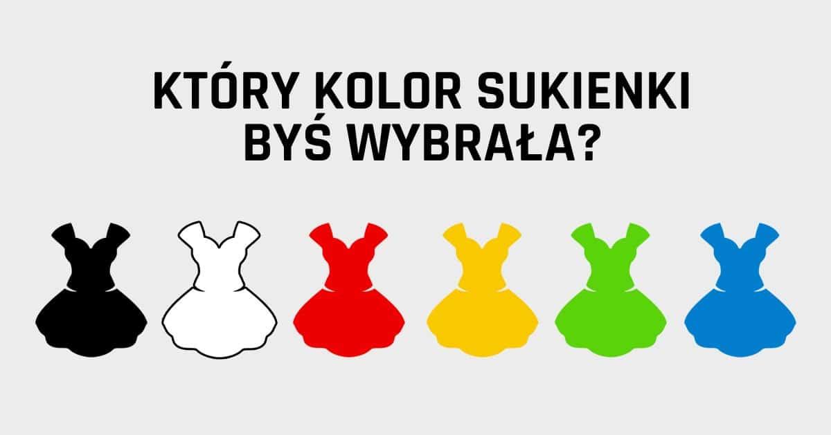 DomPelenPomyslow.pl Jaki kolor ubrań najczęściej wybierasz? Zobacz co mówi to o Tobie!