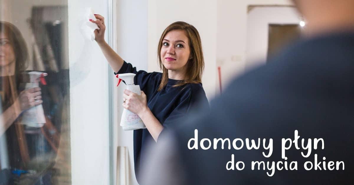 DomPelenPomyslow.pl Genialny domowy sposób na czyste okna