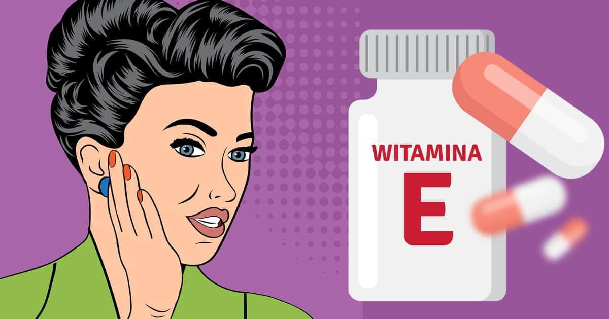 Gdy skóra zaczyna się starzeń zacznij stosować witaminę E