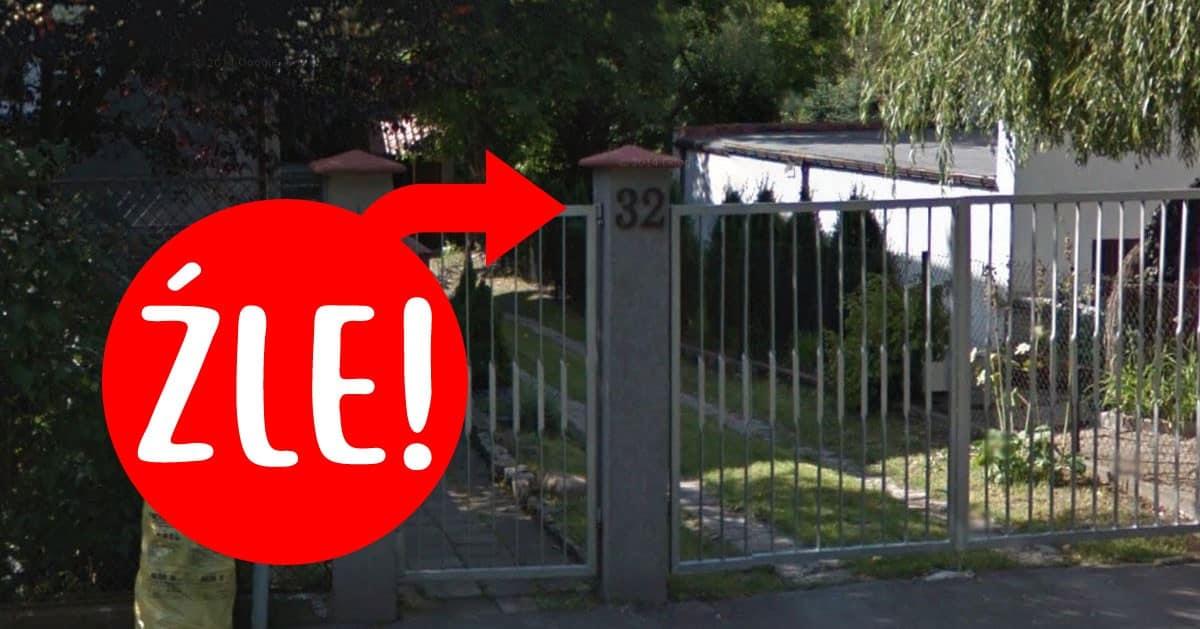DomPelenPomyslow.pl Nie masz na domu podświetlonego numeru z nazwą ulicy? Możesz dostać mandat!