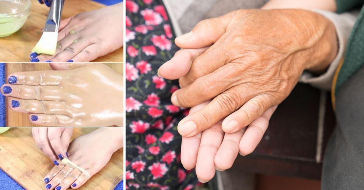 Domowy sposób na odmłodzenie dłoni