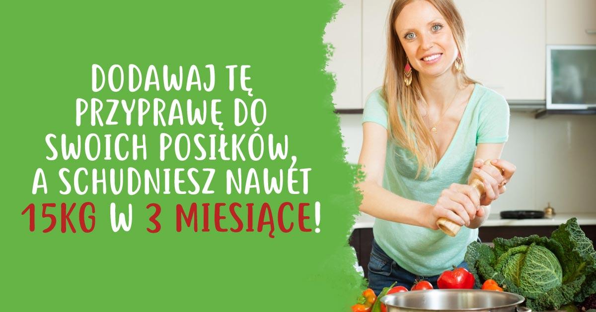 Dodawaj tę przyprawę do swoich posiłków, a schudniesz nawet 15kg w 3 miesiące!