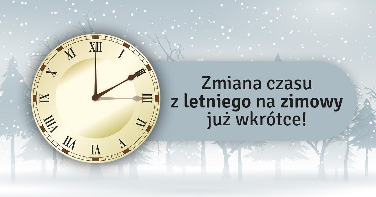 W ten weekend zmieniamy czas na zimowe – nie przegapcie!