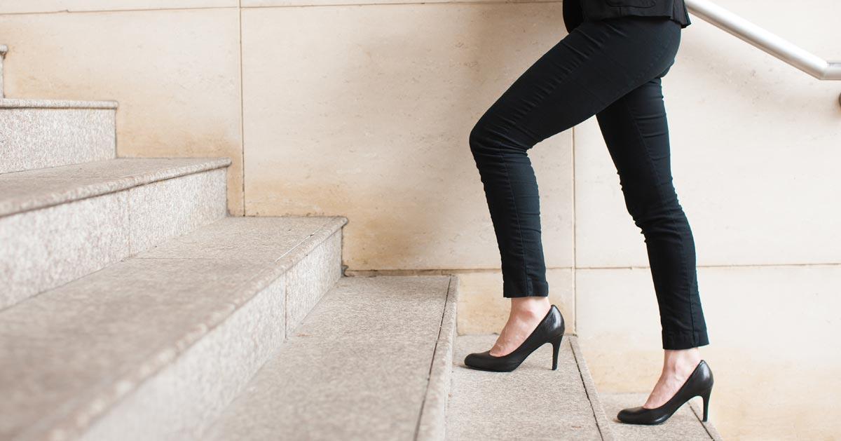 Zobacz dlaczego warto chodzić po schodach!