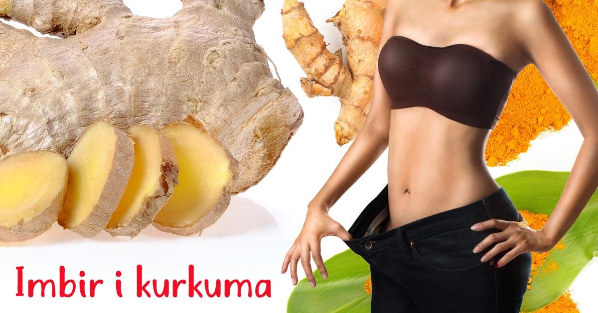 Połącz imbir z kurkumą i zacznij chudnąć jak nigdy wcześniej!